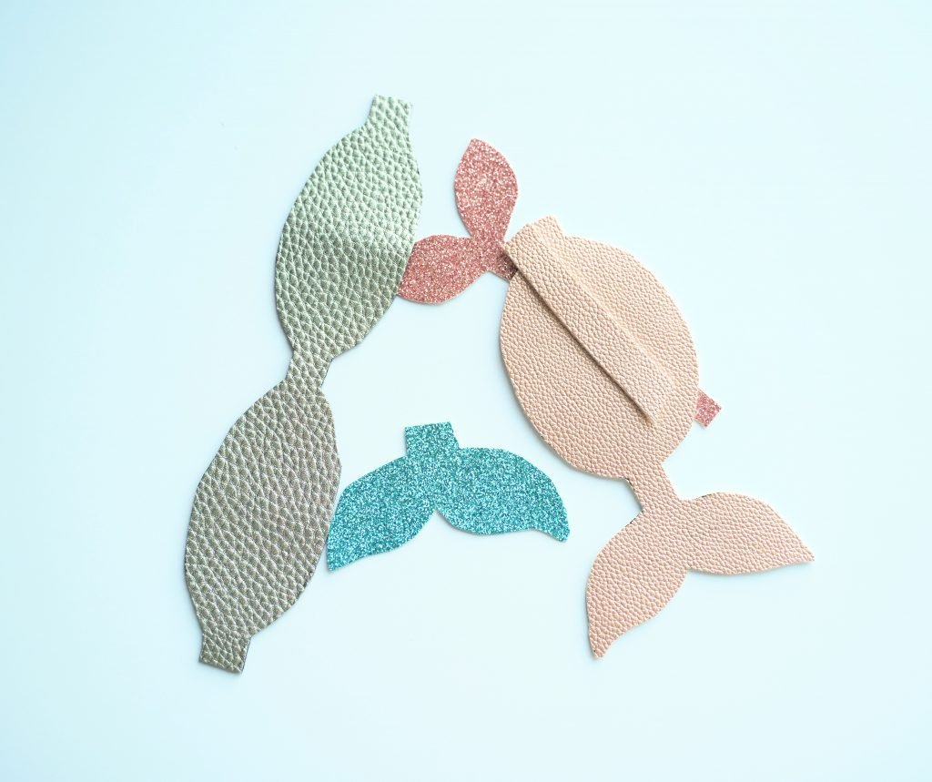mermaid tail bow