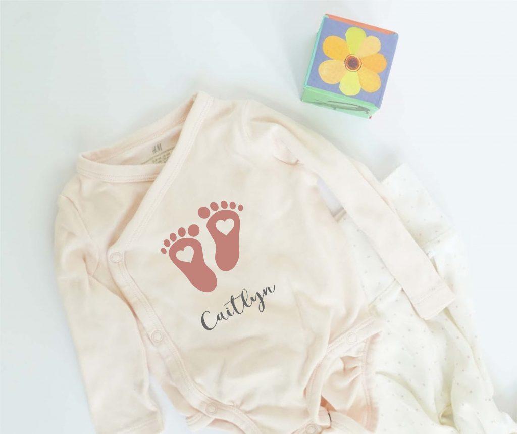 baby feet clipart svg