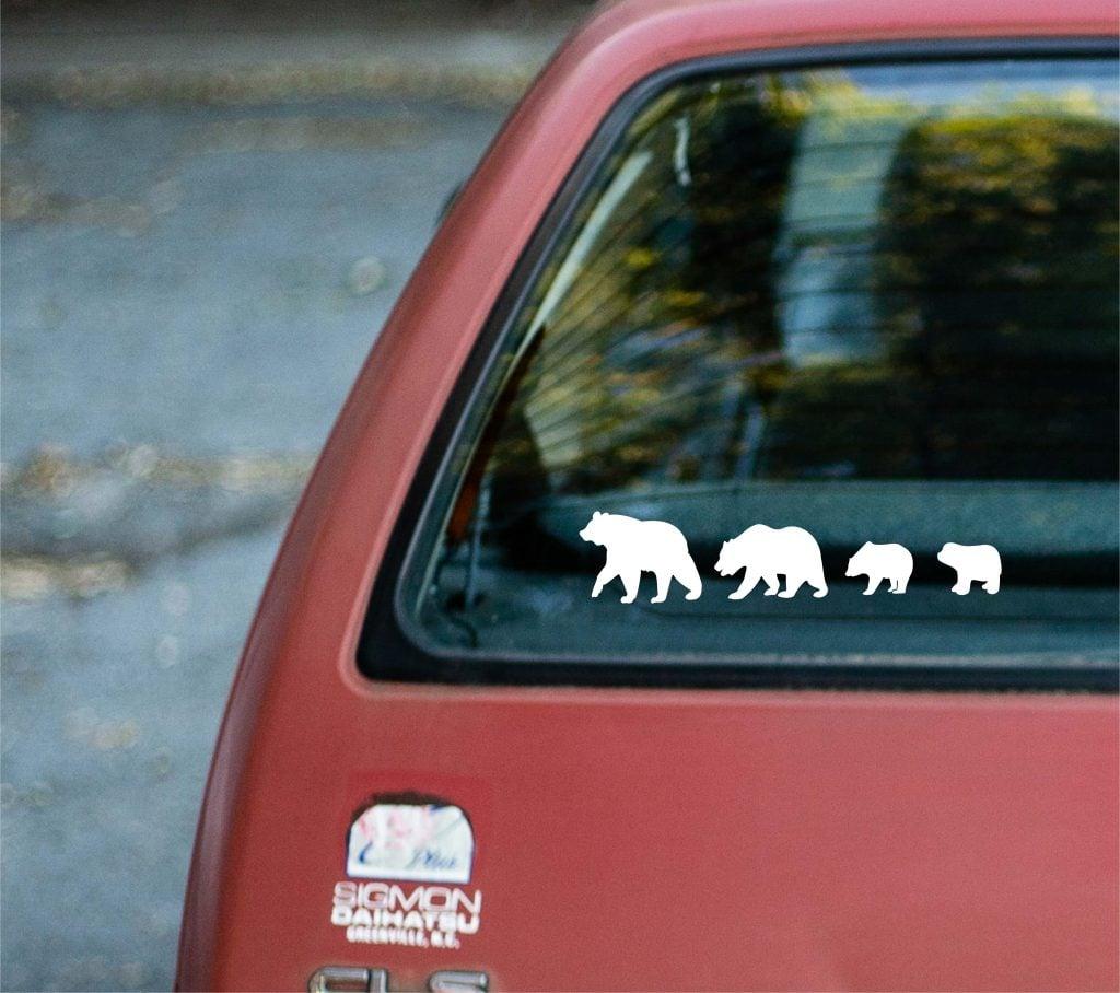 diy car stickers