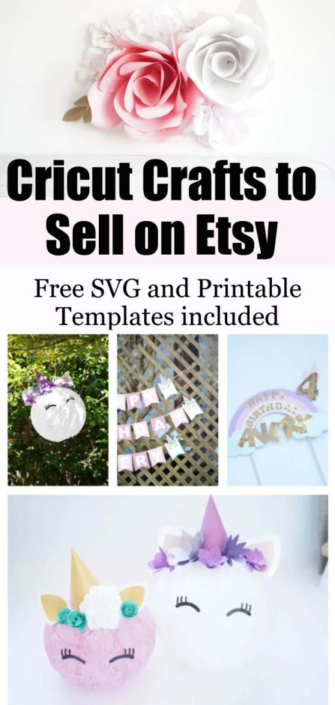 cricut projects to sell on etsy