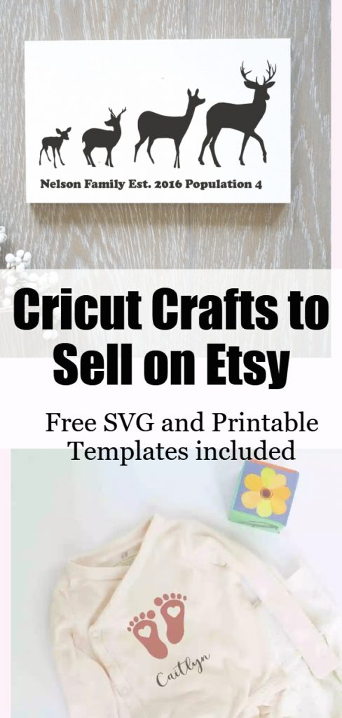 selling cricut projects on etsy