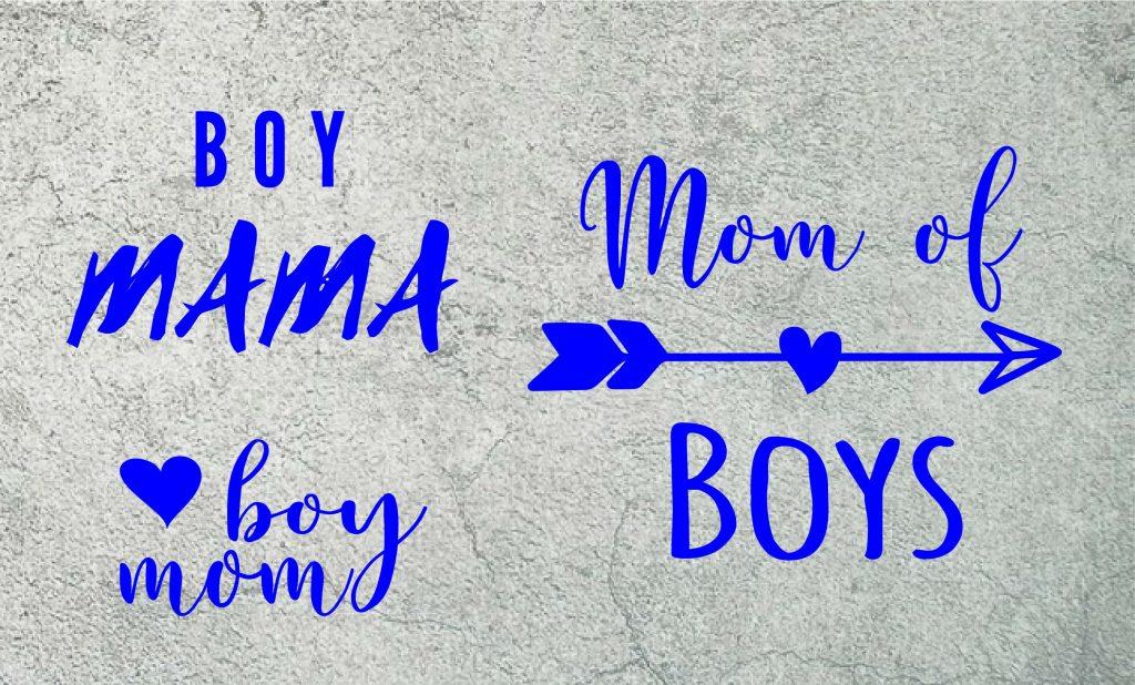 boy mom svg mom of boys svg