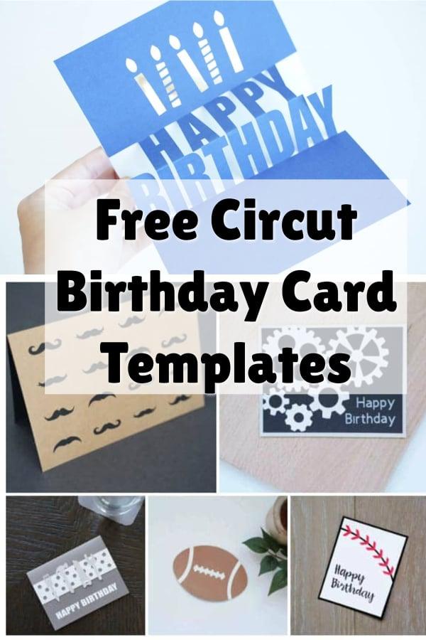 cricut birthday cards