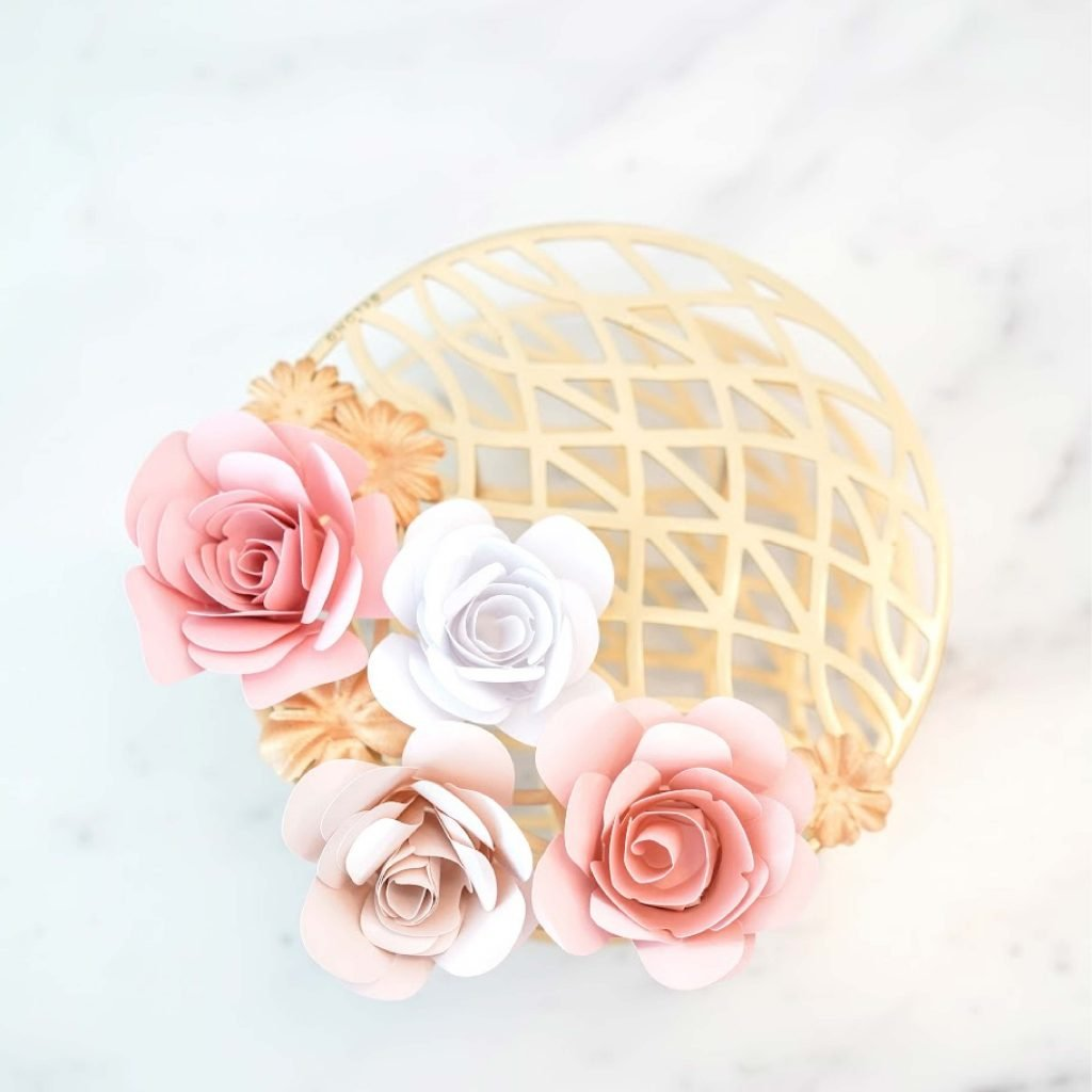 spiral rose template