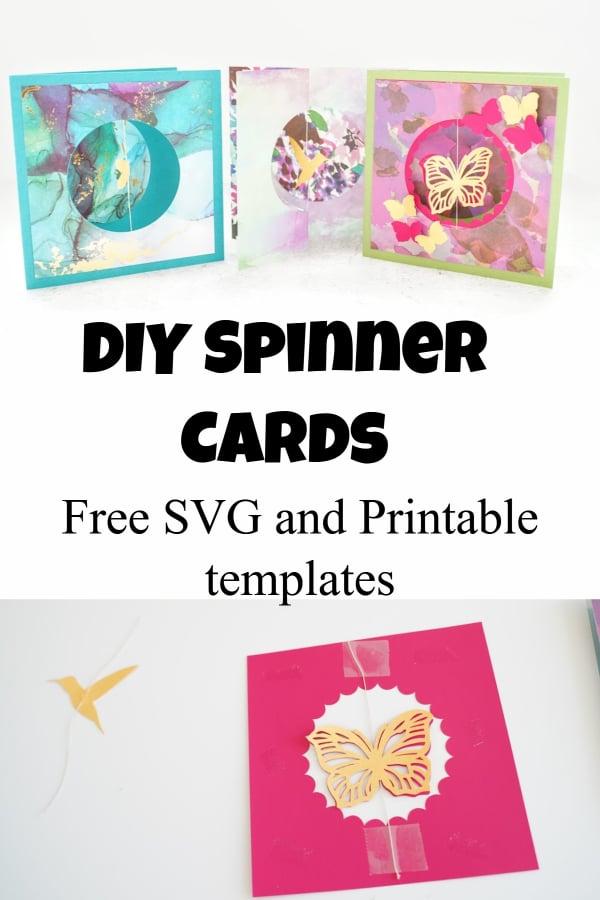 spinner card template