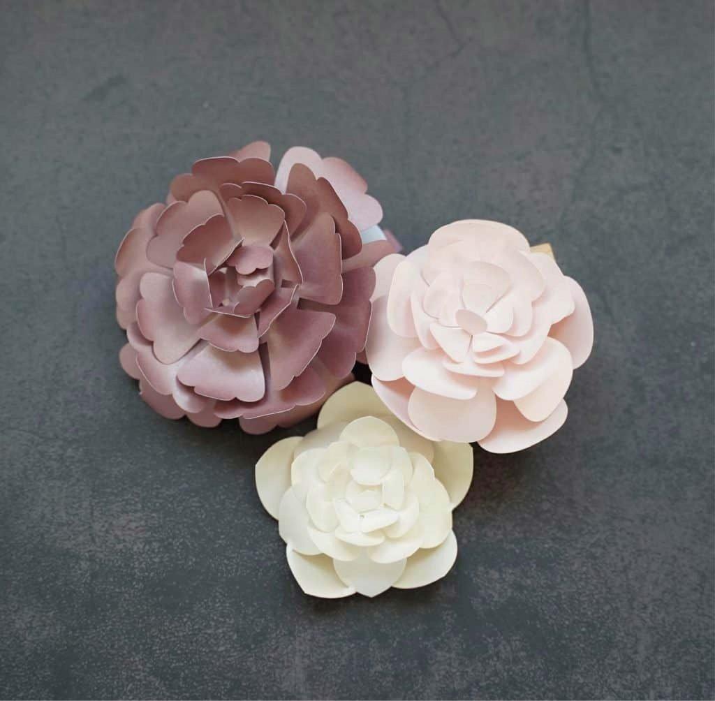 flower template 5 petals
