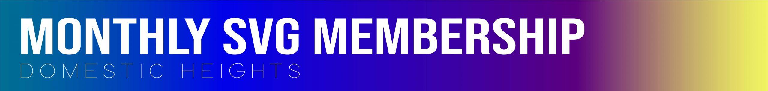 Monthly Member header