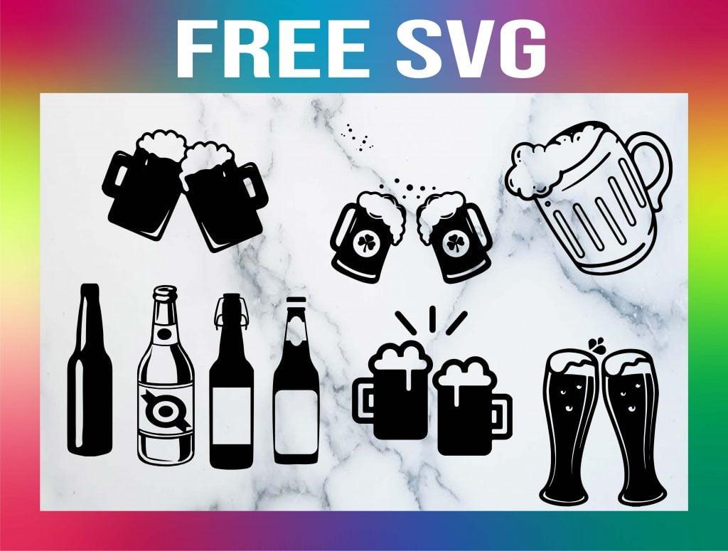 free beer mug svg