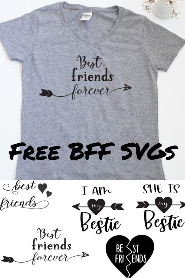 best friend svg