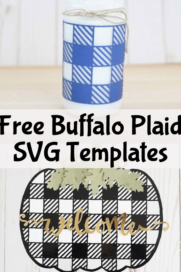 free buffalo plaid svg