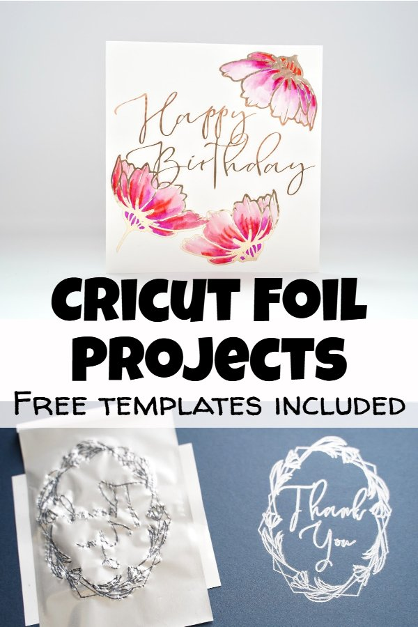 Cricut foil projects tutorial