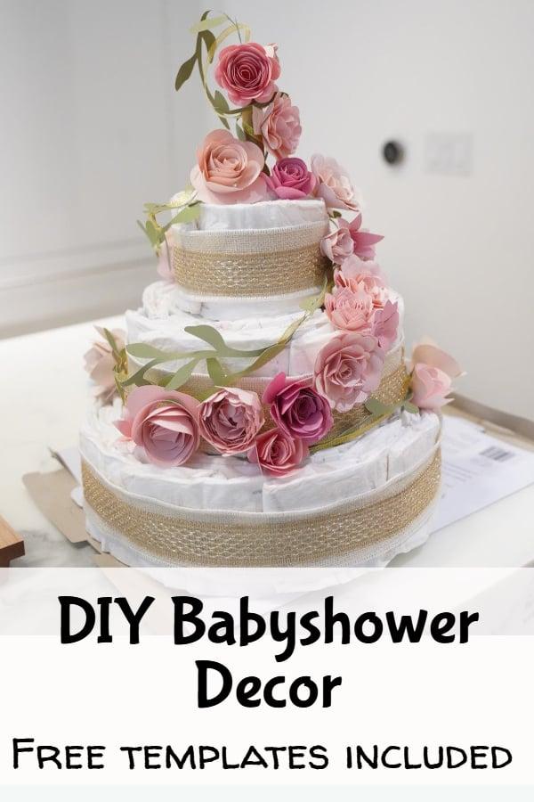 DIY baby shower decor