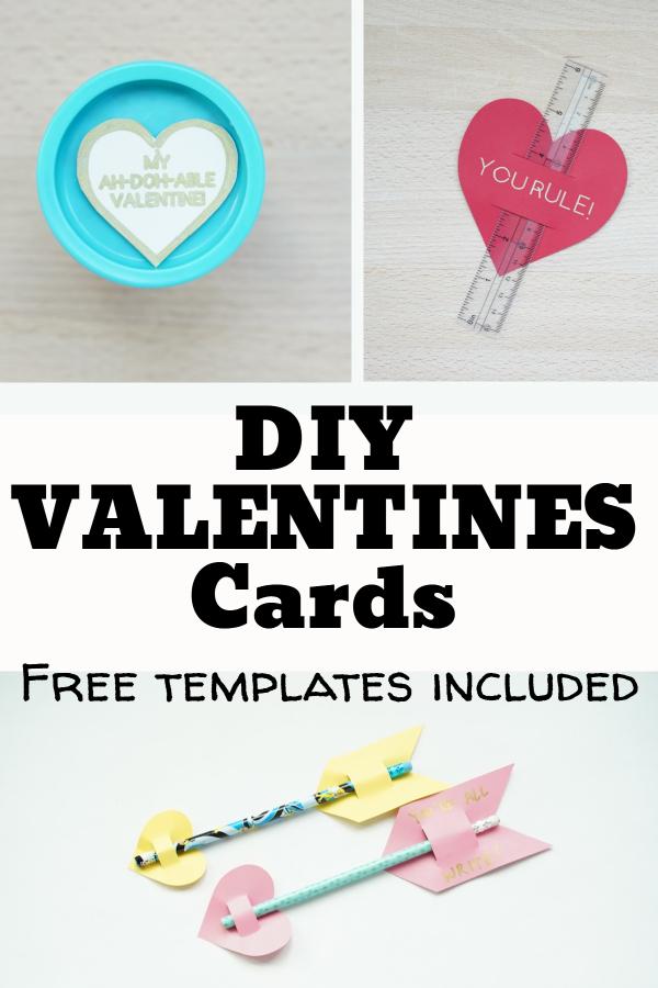 diy valentines cards