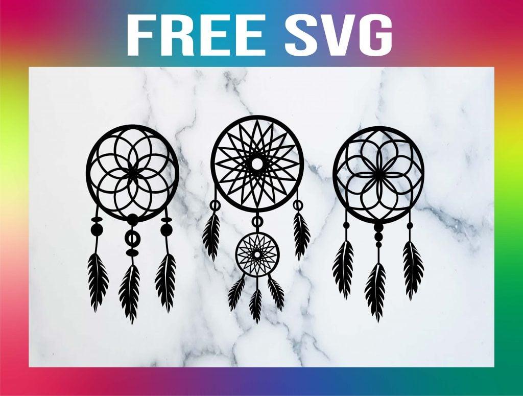 Free Dream Catcher SVG