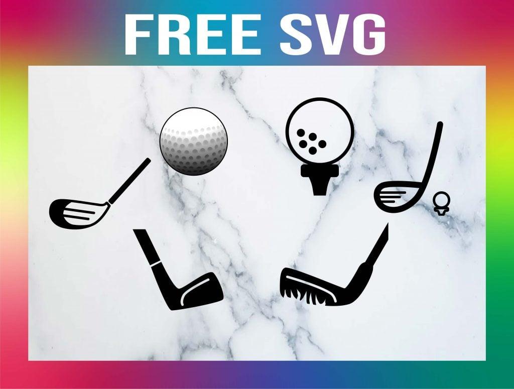 Golf Ball SVG