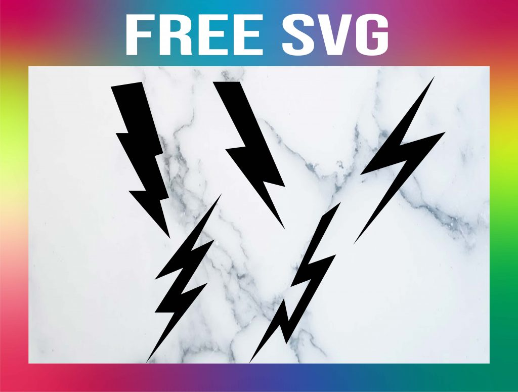 Free Lightning Bolt SVG