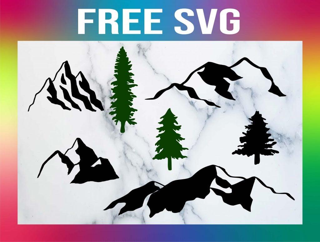 Free Mountain SVG