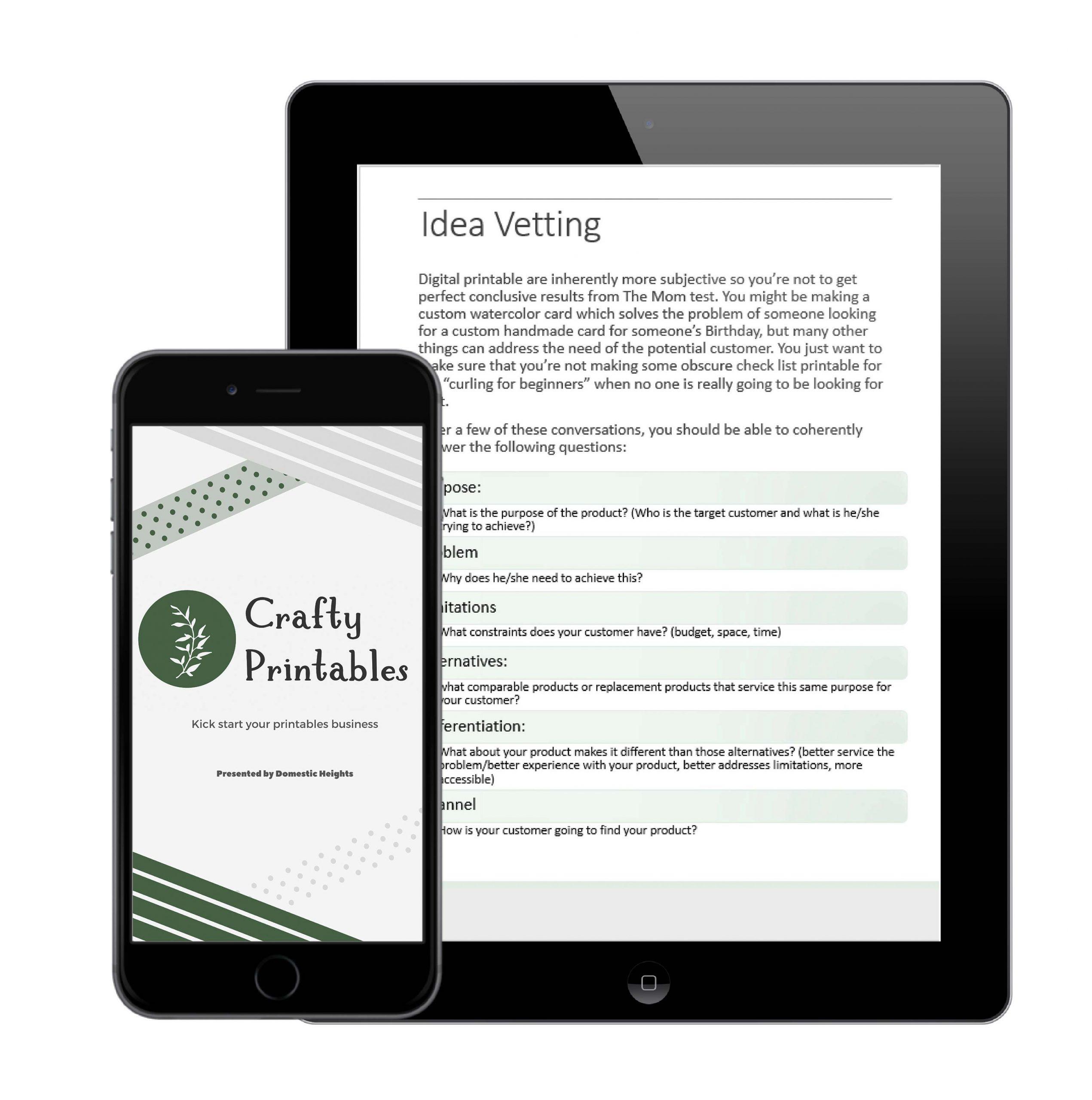 CB Printable mockup web