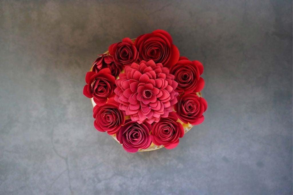 flower template cricut
