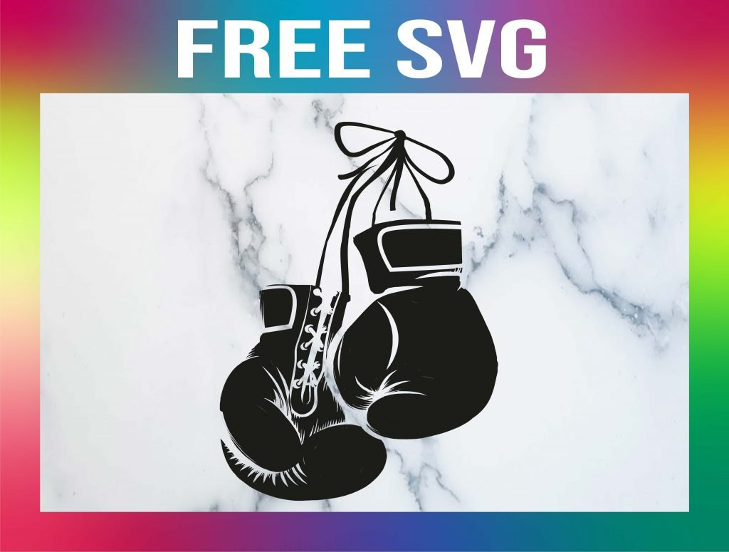 Free Boxing Glove SVG