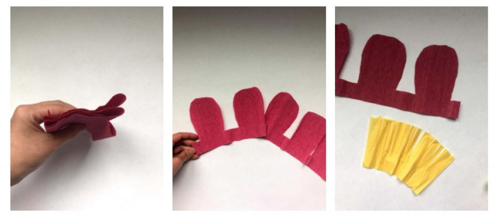 crepe paper peony template free