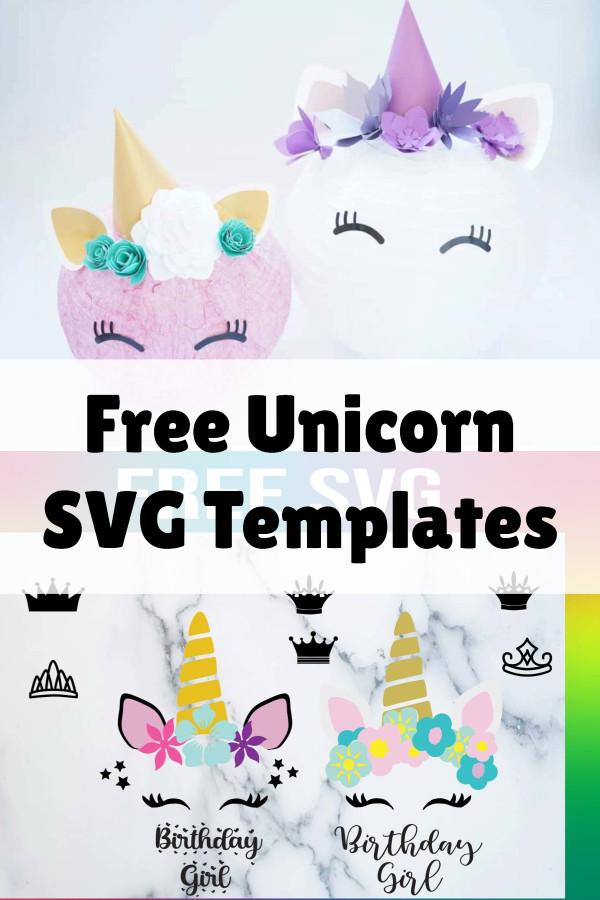 unicorn svg free