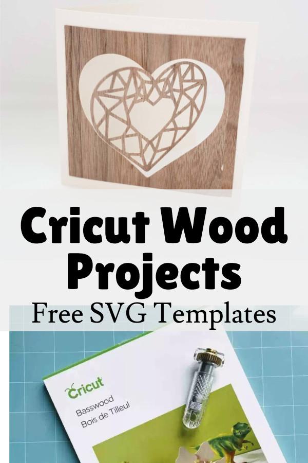 cricut wood projects