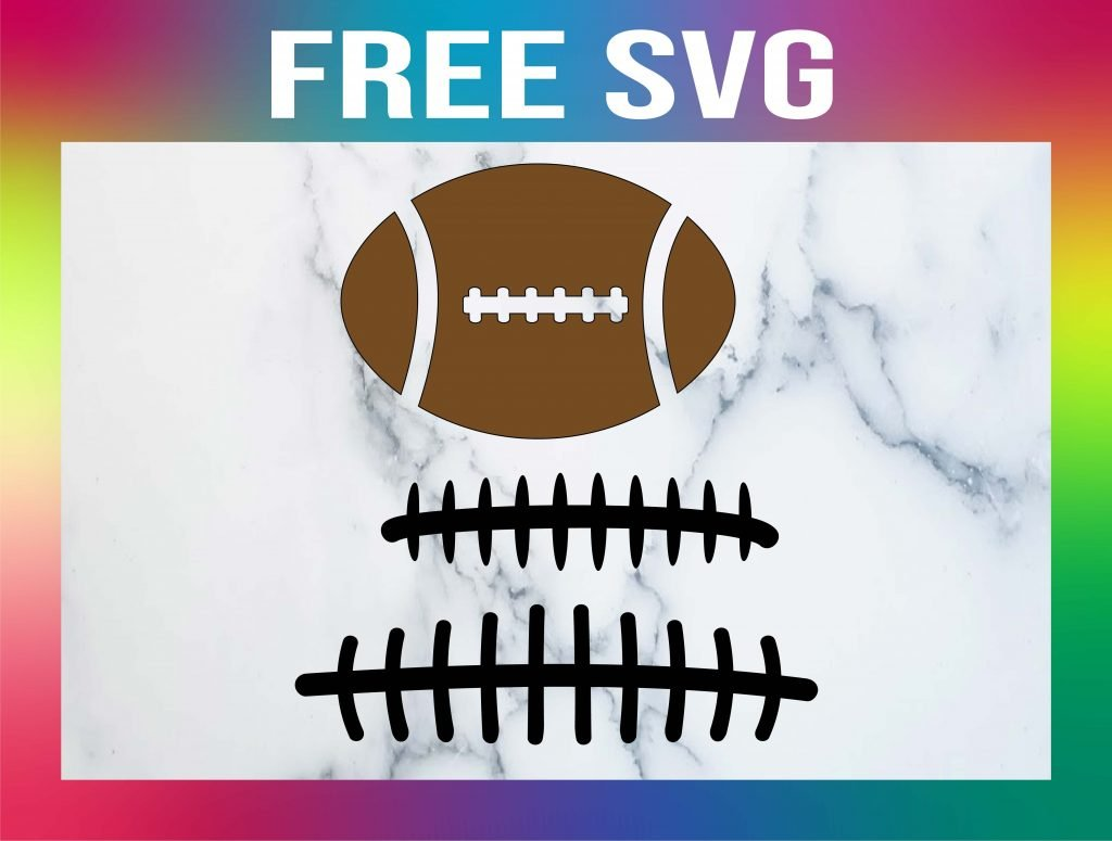 Free Football Laces SVG