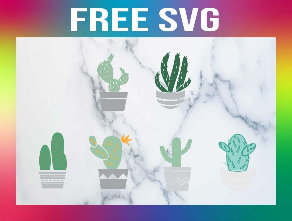 Free Cactus SVG