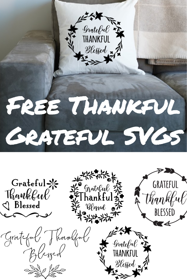free grateful thankful blessed svg