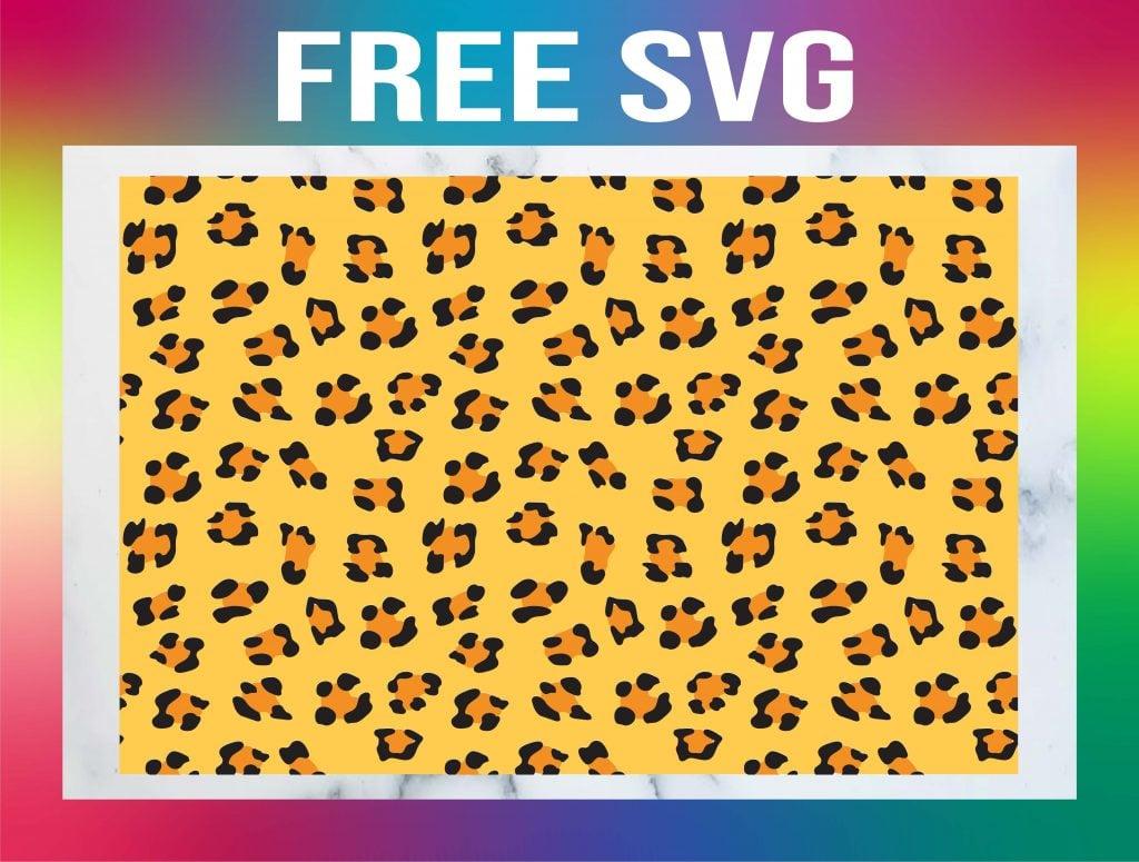 Free Leopard Print SVG