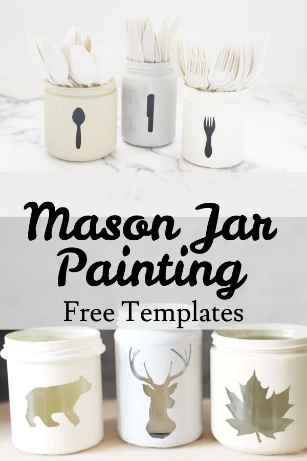 mason jar painting
