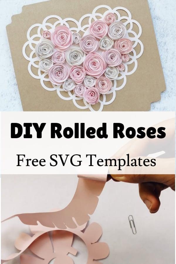 free paper rose svg