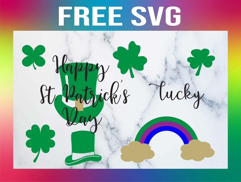 Free St Patricks Day SVG