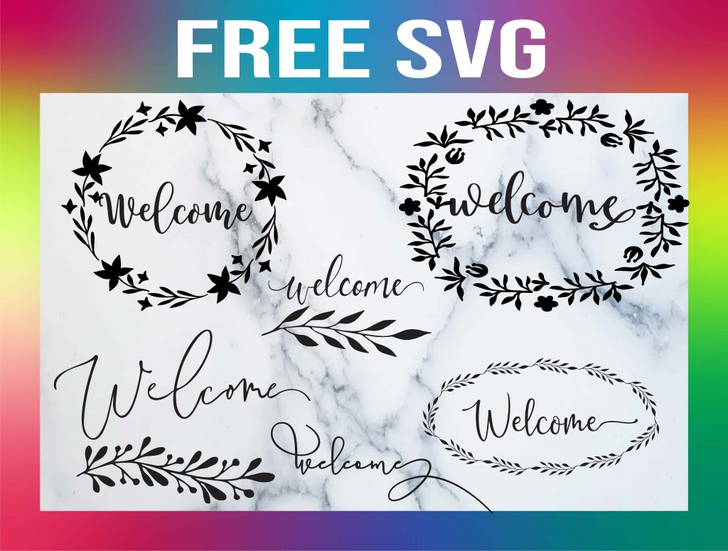free welcome sign template
