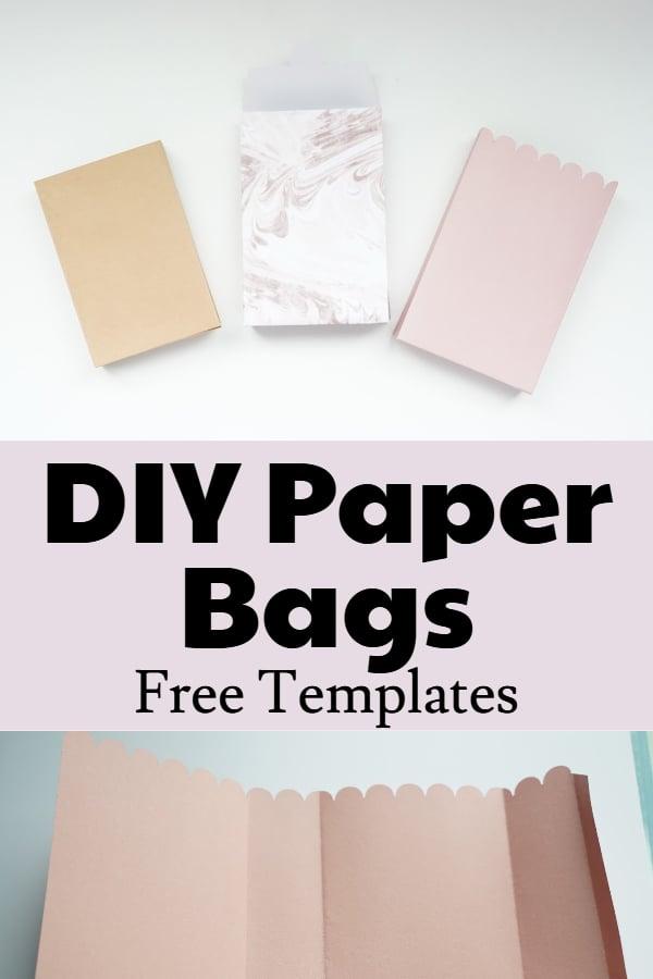 free paper bag template