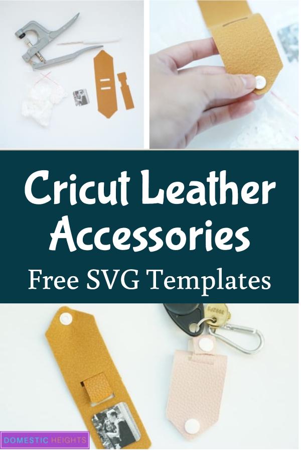 Cricut leather project