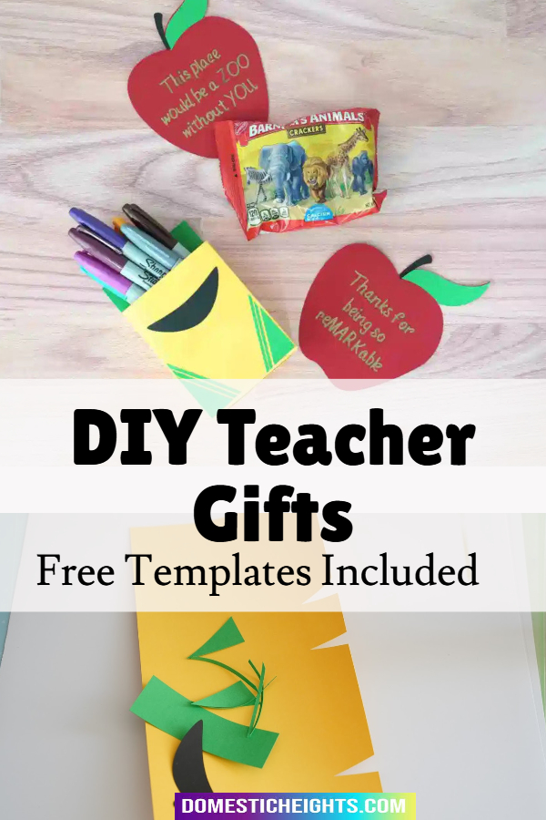 handmade gifts for teachers from students