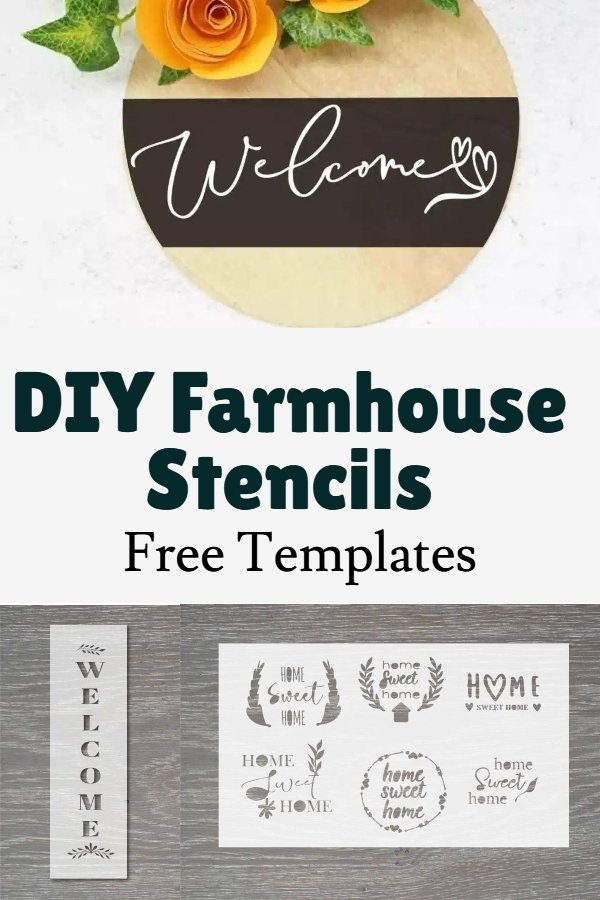 farmhouse sign stencils