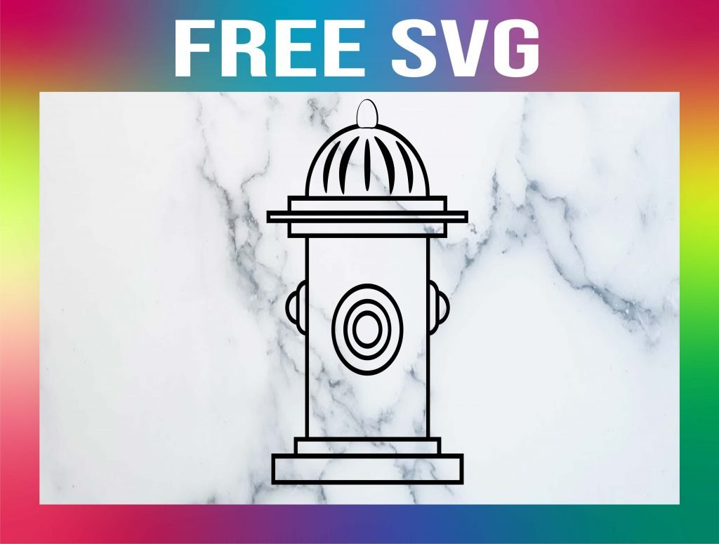 Free Fire Hydrant SVG