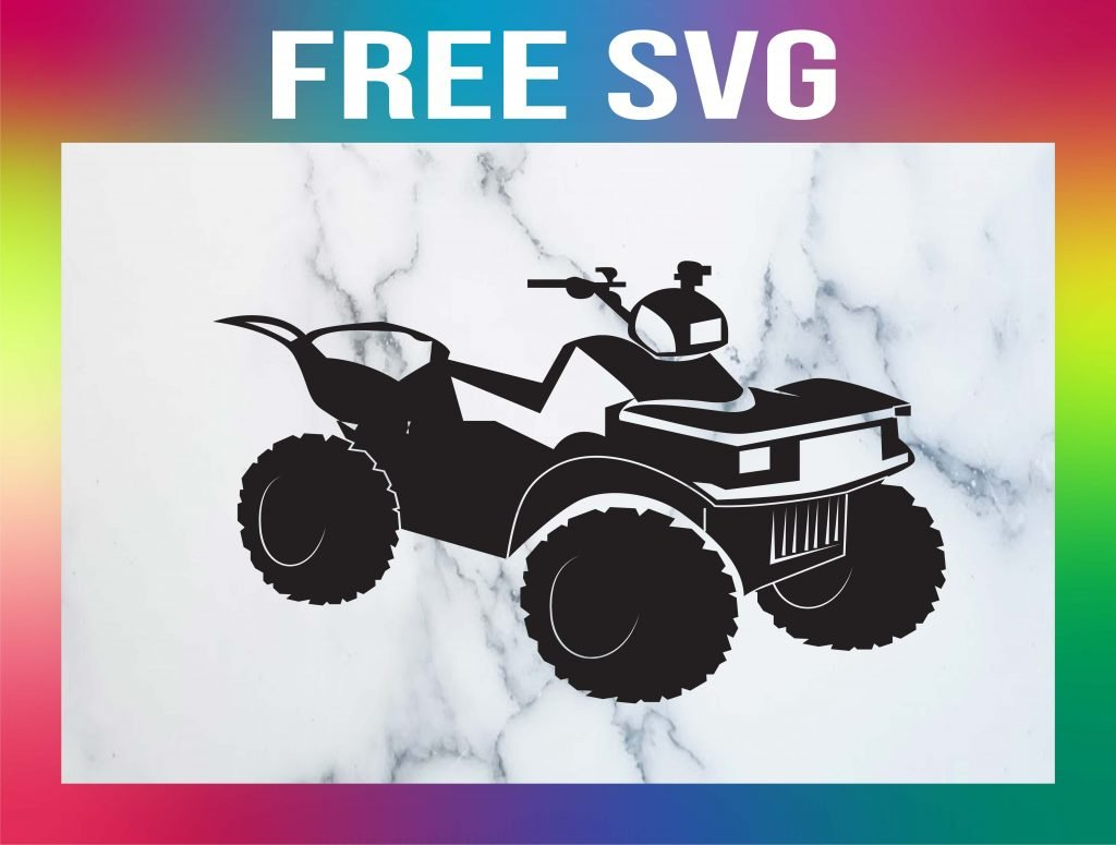 Free Four Wheeler SVG