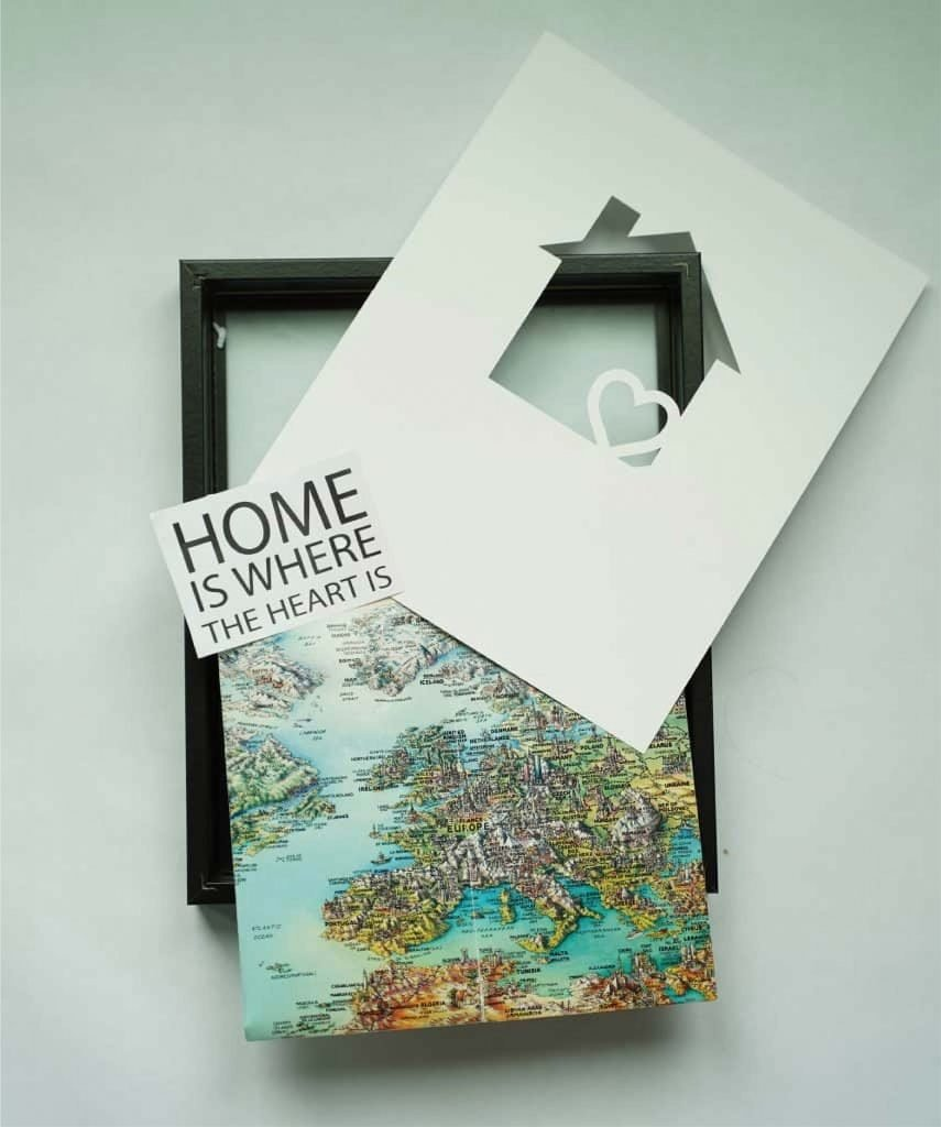 DIY our first home gift
