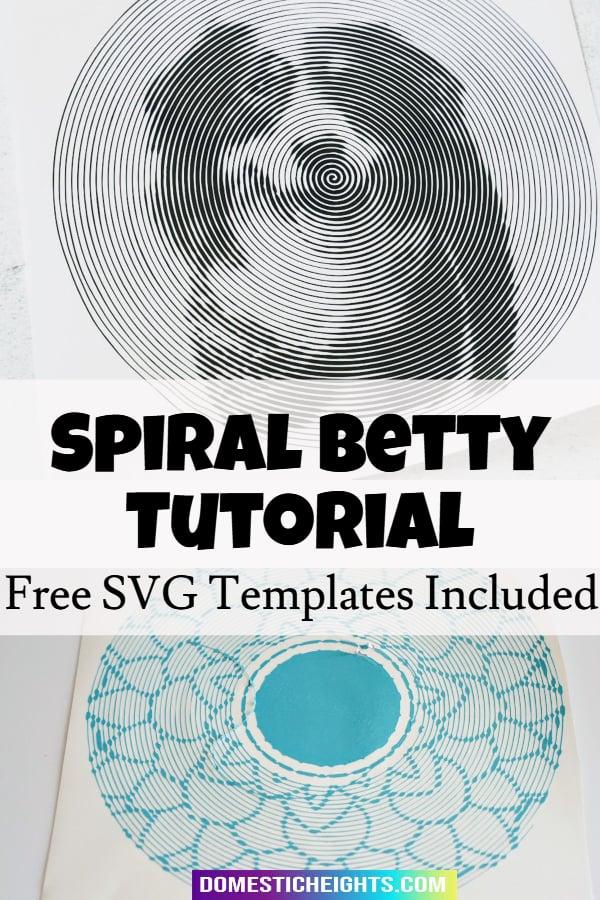 spiral betty tutorial