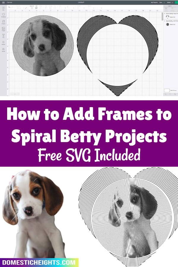 cricut spiral betty tutorial