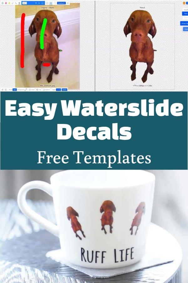 waterslide decal tutorial