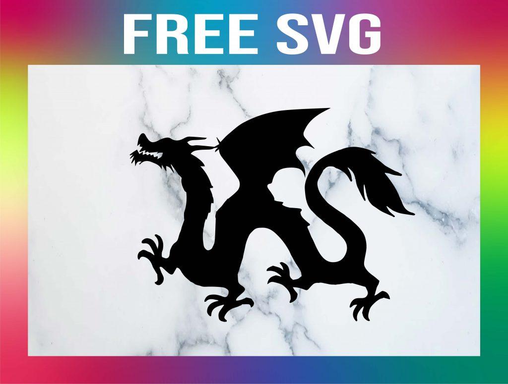 Free Dragon SVG