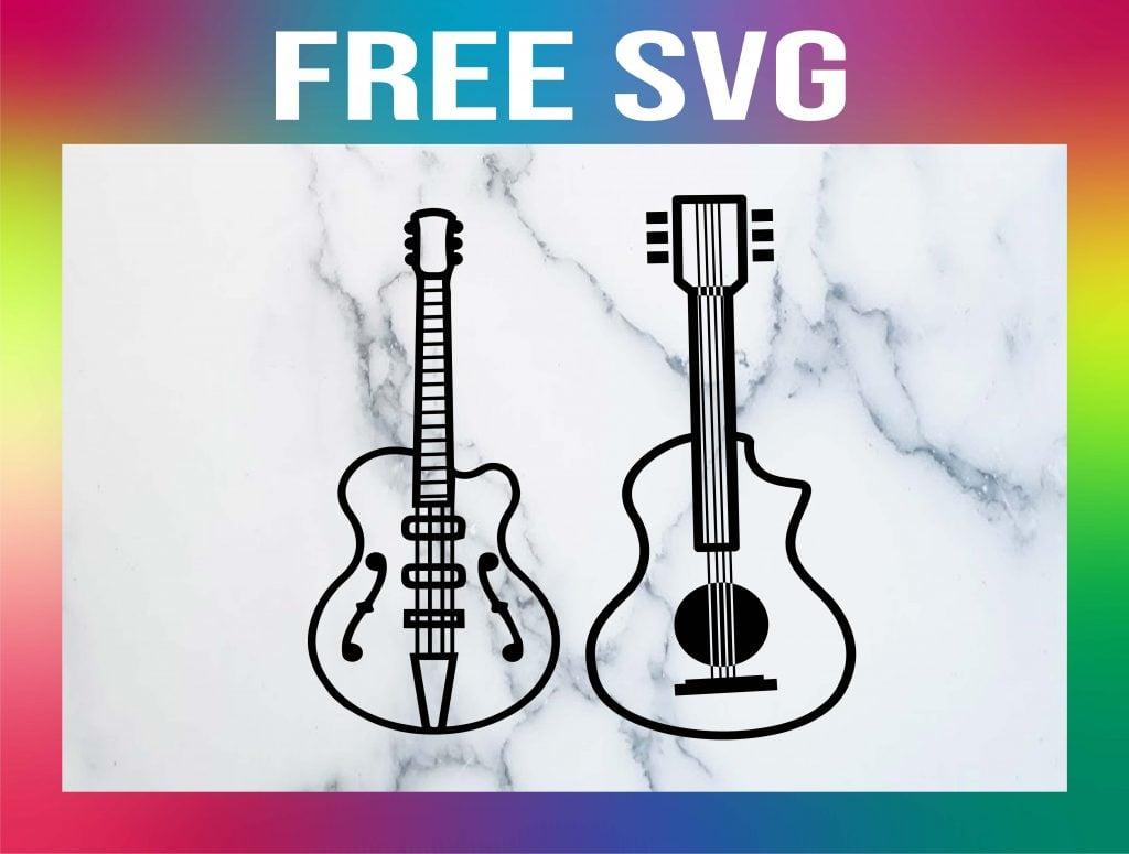 Free Guitar SVG