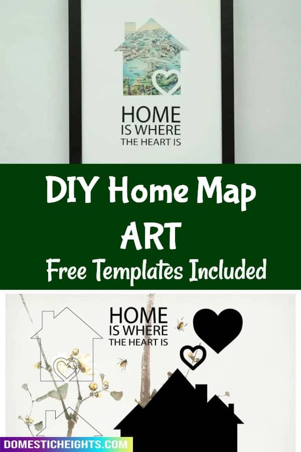 map art template