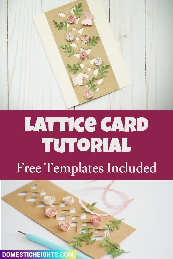 lattice card template