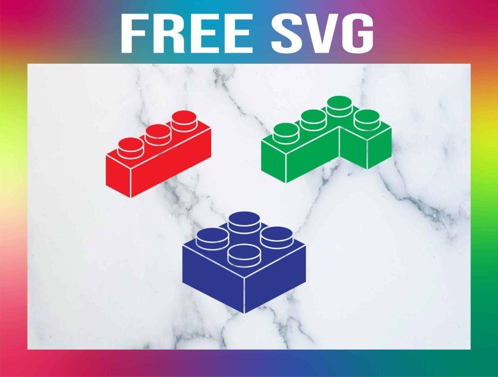 Free Lego SVG